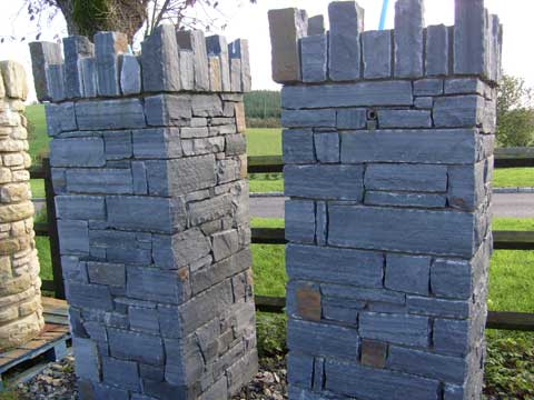Liscannor - Square Pillars (1)